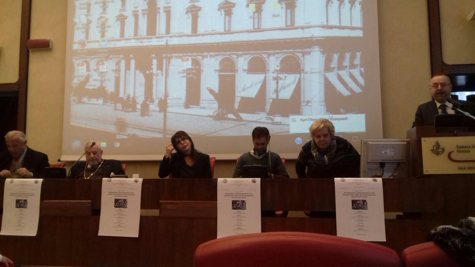 """A Ferrara grande successo per il convegno """"Immigrazione e il lungo percorso verso l'integrazione"""""""