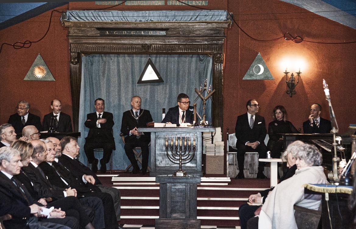 Incontro tra Massoneria e comunità ebraica, un grande successo! Gli interventi (tutti i video) e il servizio di ÈTv