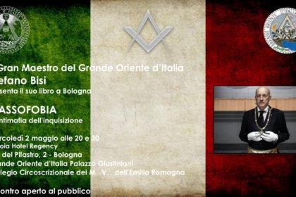 Due maggio. Il Gran Maestro Stefano Bisi presenta a Bologna il libro Massofobia