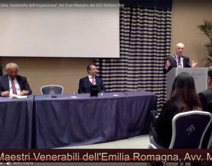 """Video integrale della presentazione di """"Massofobia"""" del GM Stefano Bisi a Bologna"""