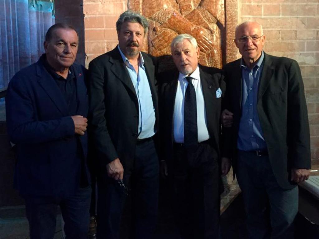 26/06. Il Gran Oratore Claudio Bonvecchio in visita all'Oriente di Parma