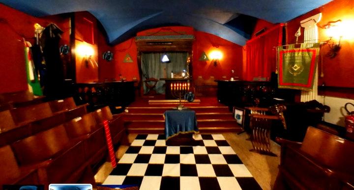 È online il virtual tour della Casa Massonica di Bologna
