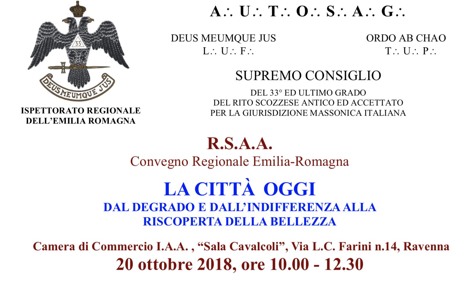 """Convegno """"La città oggi"""" a Ravenna. Tra i moderatori il Presidente di Collegio"""
