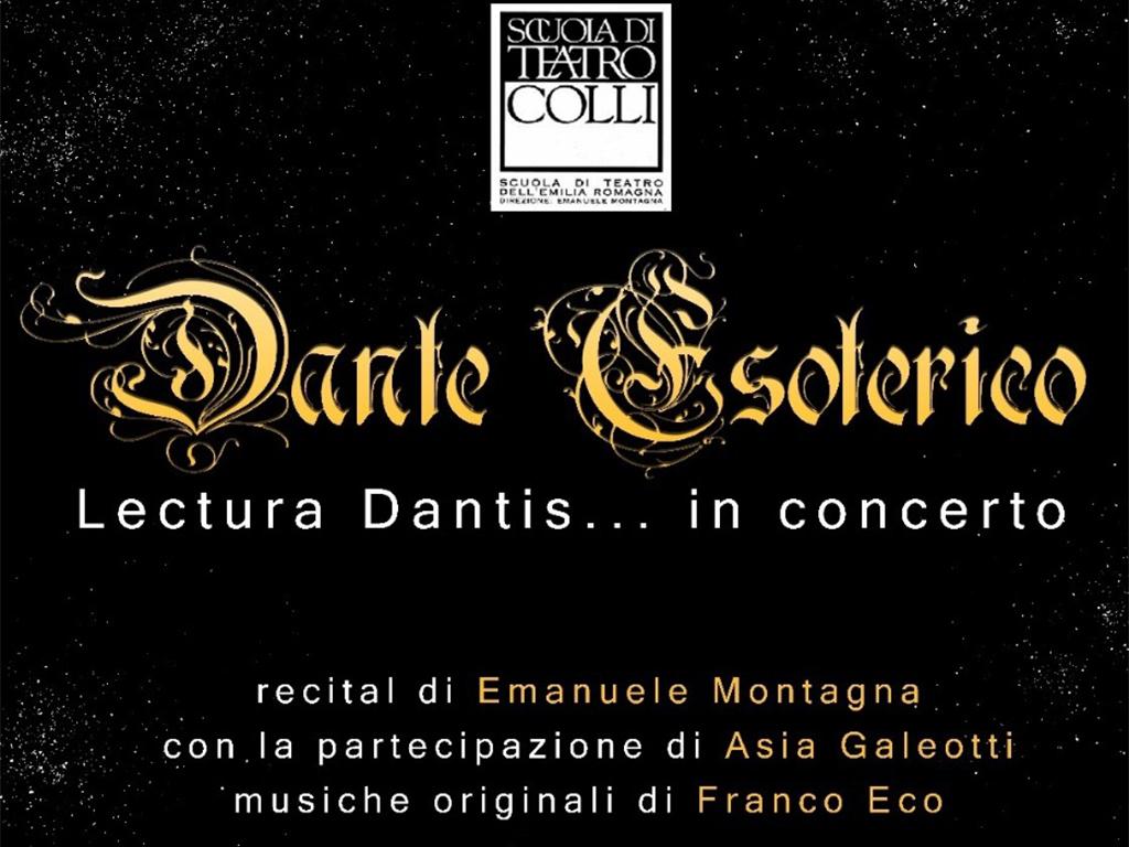 2/12/2018 Dante in musica a Riccione con Emanuele Montagna
