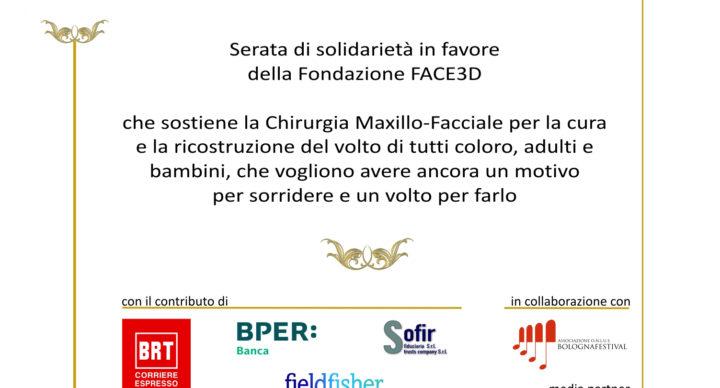 10/12/2018 Grande Oriente d'Italia e Goi ER insieme a Face3d per un concerto di beneficenza al Comunale di Bologna
